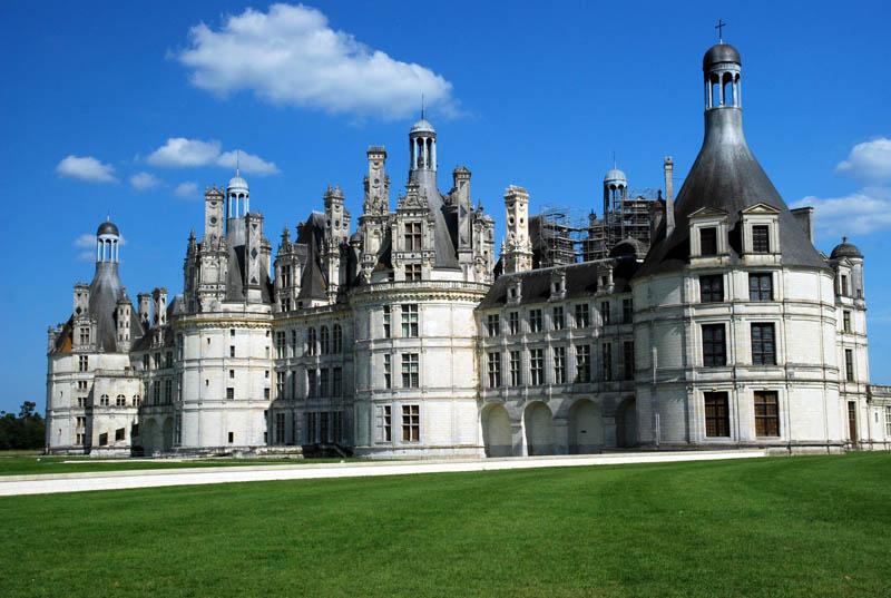 Fotos del viaje a francia chambord vendome - Castillo de chambord ...
