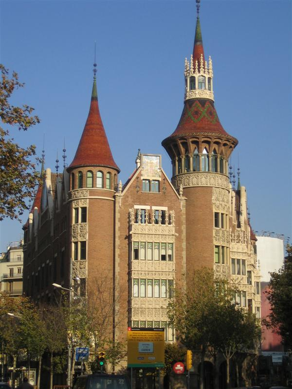 casa terrades les punxes menú fotos barcelona menú galerías