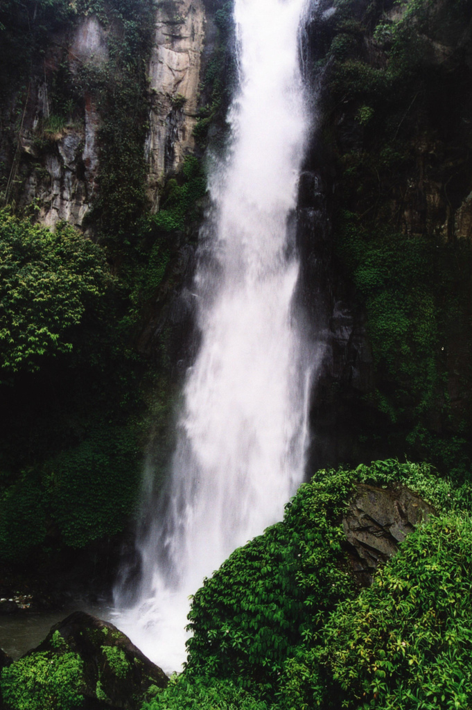 Berastagi Indonesia  city photo : Indonesia Sumatra Waterfall Near Berastagi