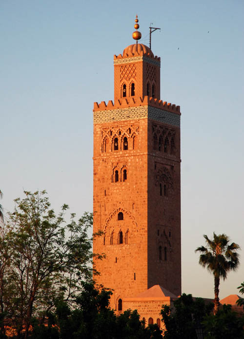 photos of the travel to marrakech walls koutoubia mosque. Black Bedroom Furniture Sets. Home Design Ideas