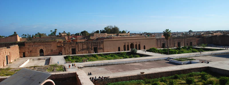 Photos Of The Travel To Marrakech El Badi Palace