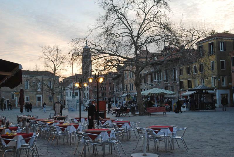 Venecia - Campo Santa Margherita