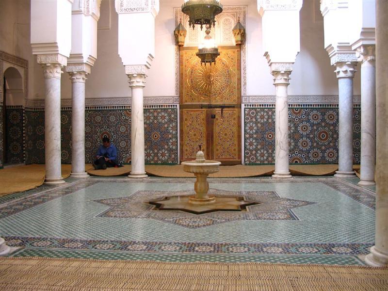 Resultado de imagen de mausoleo moulay ismail